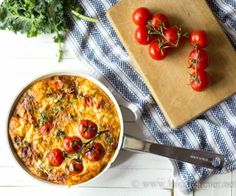 This zero carb crustless quiche takes just minutes to make! A wonderfully easy weeknight meal when you're pressed for time!