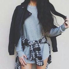 cheap blouses cheap coats women clothing cheap sweater long cardigan cheap teen clothes cheap toms cheap jacket women shoes fashion cotton cardigan cardigans for teens long sleeve cardigan outfit grandpa cardigan Mode Outfits, Grunge Outfits, Grunge Fashion, Fall Outfits, Casual Outfits, Hipster Fashion, Flannel Outfits, Flannel Jacket, School Outfits