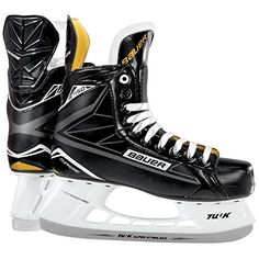 Bauer Supreme S 150 SR BTH16 Hockey Skates Black Size D 115 *** Be sure to check out this awesome product. (This is an affiliate link) #InlineSkating