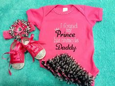 Ruffle Bottom Onesie, Hair band and Baby Bling shoes by www.justbeingfrilly.com