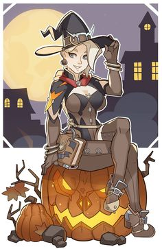 Overwatch, Mercy by SplashBrush.deviantart.com on @DeviantArt