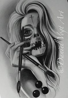 Chicano Arte Art Chicano, Chicano Tattoos, Tattoo Sketches, Tattoo Drawings, Art Drawings, Side Tattoos Women, Latino Art, Lowrider Art, Flash Art