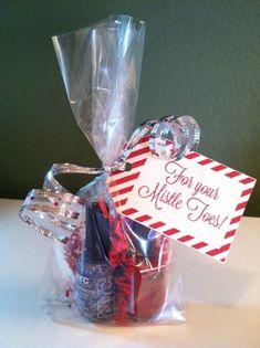 Merry Xmas Nathaniel Mini Heart Tin Gift Present Happy Christmas Stocking Filler