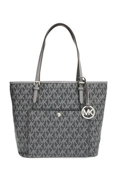 MICHAEL Michael Kors 'Large Jet Set' Snap Pocket Tote - on #sale 25% off @ #Nordstrom