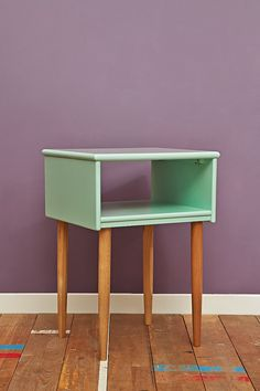 Open Night Stand in Light Green