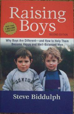 Raising Boys - Steve Biddulph. Click the link to purchase