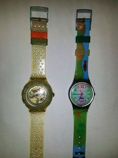 SWATCH HOOKIPA GN118 AND JELLY BUBBLES SDK104
