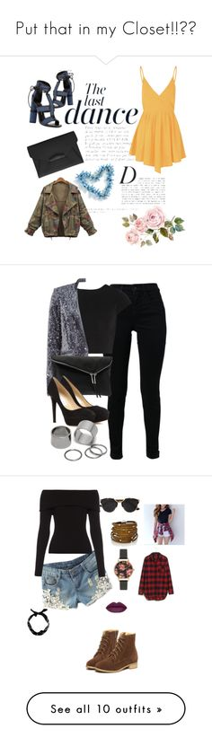 """""""Put that in my Closet!!❤️"""" by kayliespaulding ❤ liked on Polyvore featuring moda, Tom Ford, Glamorous, Givenchy, Anja, PolyvoreMostStylish, J Brand, Alice + Olivia, Steffen Schraut e Henri Bendel"""