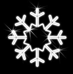 Závesná snehová vločka - 2D - 500mm - OVL 10-L 2d, Symbols, Peace, Sobriety, Glyphs, World, Icons