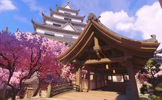 Overwatch - Best new Visual art game? Game Environment, Environment Concept Art, Gaara, Sasuke, Wonderland Events, Anime Places, Art Chinois, Writing Art, Environmental Art