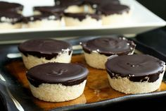Dark Chocolate Coconut Treats #paleo #1in10pcos