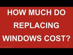 Replacing Windows Cost Window Cost, Home Improvement, Windows, Youtube, Home Improvements, Youtubers, Ramen, Youtube Movies, Interior Design