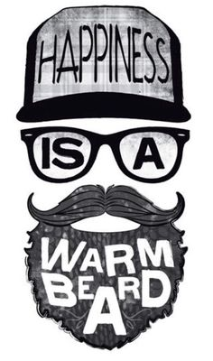 design a hipster tshirt by oppodanmarks Beard Styles For Men, Hair And Beard Styles, Beard Logo, Barber Tattoo, Beard Art, Black Art Painting, Beard Rules, Beard Humor, Fashion Graphic Design