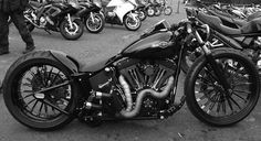Harley-Davidson Twin Cam Softail by Chemical Candy Customs