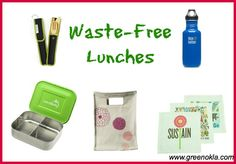 Back to School Green: Waste-Free Lunches