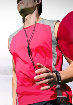 LG activity tracker Heart Rate Monitoring Earphones and Matching Activity Tracker Coming Soon from LG