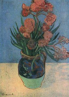 Art Van, Van Gogh Art, Vincent Van Gogh, Flores Van Gogh, Desenhos Van Gogh, Van Gogh Still Life, Van Gogh Flowers, Oil Painting On Canvas, Painting & Drawing
