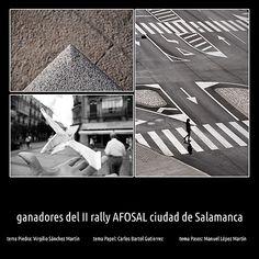 Ganadores del II Rally Fotográfico Ciudad de Salamanca AFOSAL
