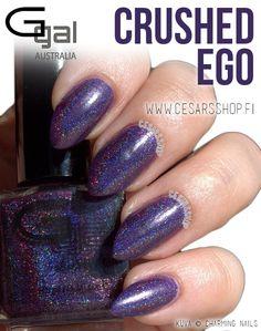 8,90€. Glitter Gal - CRUSHED EGO - 3D/Holo 10ml - CesarsShop / Kynsilakkataivas