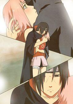 Resignation by arriku.deviantart.com #fanart ItaSaku - Itachi and Sakura