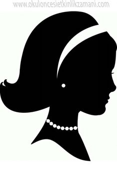 Princess Silhouette, Silhouette Clip Art, Silhouette Design, Mothers Day Decor, Mothers Day Crafts, Image Deco, Flower Pot People, Mother Card, Paper Flowers Craft