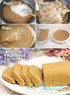 Tahini Hazelnut Crispy Halva Recipe, How To? - Womanly Recipes - Delicious, Practical and Delicious Food Recipes Site, Halva Recipe, Tahini Recipe, Hazelnut Recipes, Best Pie, Flaky Pastry, Mince Pies, Recipe Sites, Turkish Recipes, Dessert Recipes