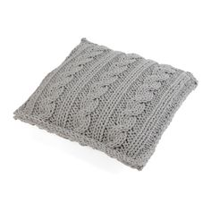 DOVE BRAID pillow - Ohoo!  Usage of knitted fabrics is a trend in interior design that has an unceasing popularity.