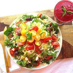 Beet Marinara Salad