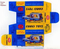 CORGI TOYS 486 : KENNEL SERVICE WAGON boite repro / reprobox | eBay