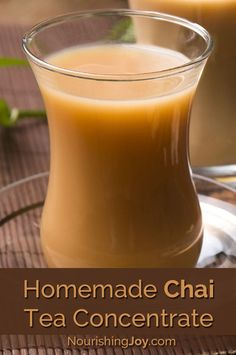 Make your own homemade chai tea concentrate to keep on hand for whenever your craving for warm, fragrant spices and a comforting drink overtake you.