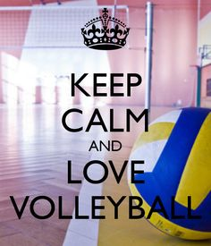 """My favorite sport!!!!!! When I was little I wanted to be a volleyball player and I hadn't even played before!!! I called it """"volley vall"""" I didn't know it was volley ball until I was 5"""