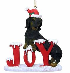 Dachshund Christmas Cards & Ornaments