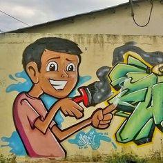#cosksitoWan #Graffiti #CoskWan21  #StreetArt