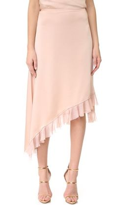 Elizabeth and James Ailie Asymmetric Ruffle Skirt | SHOPBOP