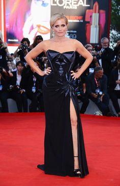 Isabella Ferrari in Atelier Versace alla Cerimonia di chiusura di Venezia 69  http://lamiastilistapersonale.wordpress.com/#