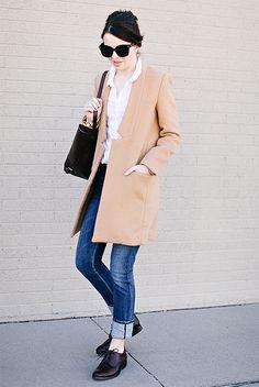 30 Stylish Ways To Wear A Camel Coat | Be Daze Live