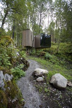 Juvet landskapshotell, Jensen og Skodvin, Norway