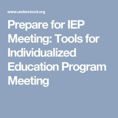 Individualized Education Programs Ieps For Parents Kidshealth >> 10 Best Ieps And 504 Plans Images In 2017 504 Plan Learning