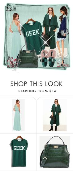 """""""1. SHEINSIDE"""" by red-rose-girl ❤ liked on Polyvore featuring Posh Girl, Valentino and Alice + Olivia"""
