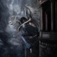 Follow-angel by =DeniseWorisch on deviantART