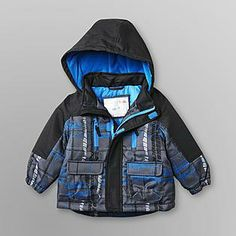 c20608bcb Kmart 2013: WONDERKIDS: Hooded Snowboard Jacket Snowboard, Toddler Boys,  Motorcycle Jacket,