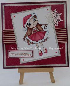 Tinyrose's Craft Room: Crafty Catz Weekly Challenge Blog - Sponsor Time for Tea Design I used the Santa Baby image.