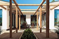 terassi Decor, Stone, House, Townhouse, Modern House, Modern, Atrium, Stone Houses, Model Homes