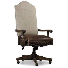 Hooker Furniture Rhapsody Lighted Display Stand & Reviews | Perigold Swivel Office Chair, Home Office Chairs, Home Office Furniture, Desk Office, Office Suite, Furniture Logo, Urban Furniture, Furniture Chairs, Furniture Design