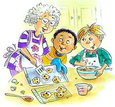 Amy Wummer:  Baking with Grandma