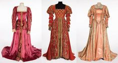 A Midsummer Night's Dream (1953) 3 court gowns worn by extras