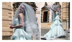Abiti da sposa realizzati in Italia e venduti nelle migliori boutique di tutto il mondo e nei franchising Atelier Aim�e Montenapoleone.
