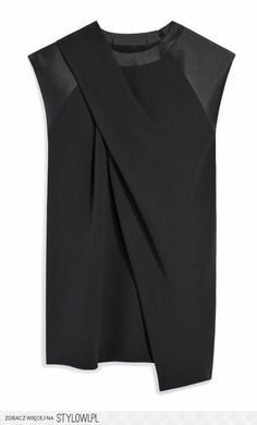 Alexander Wang Draped Neck Muscle Tee | fashion