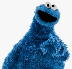 Blue cookie monster))))