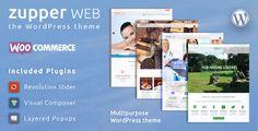 awesome Zupper net – multipurpose responsive WooCommerce WordPress theme (eCommerce)